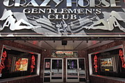 Entrances Prints - San Francisco - Crazy Horse Gentlemens Club on Market Street - 5D17977 Print by Wingsdomain Art and Photography
