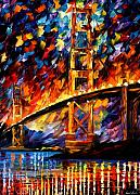 Afremov Art - San Francisco - Golden Gate by Leonid Afremov