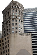 Architecture Metal Prints - San Francisco - Hobart Building on Market Street - 5D17870 Metal Print by Wingsdomain Art and Photography