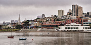Ghirardelli Framed Prints - San Francisco Bay Framed Print by Wade Aiken