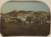 Businesses Prints - San Francisco, California In 1851 Print by Everett