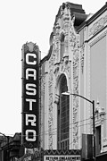 Transgender Art - San Francisco Castro Theater . Black and White Photograph . 7D7579 by Wingsdomain Art and Photography