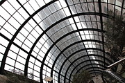 Skylights Posters - San Francisco Crocker Galleria - 5D17869 Poster by Wingsdomain Art and Photography