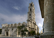 Historic Site Prints - San Francisco de Asis Abbey. Havana. Cuba Print by Juan Carlos Ferro Duque