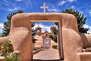 Pueblo De Taos Acrylic Prints - San Francisco de Asis Acrylic Print by Rick Ulmer