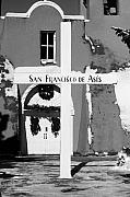 Taos Prints - San Francisco de Asis Print by Troy Montemayor