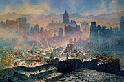 San Francisco Earthquake Print by Pg Reproductions