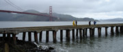 Sausalito Photos - San Francisco Golden gate by Bobbi Mercouri