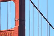 San Francisco Golden Gate Bridge . 7d7954 Print by Wingsdomain Art and Photography