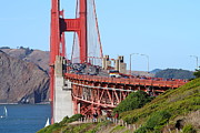 San Francisco Golden Gate Bridge . 7d8151 Print by Wingsdomain Art and Photography