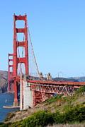 San Francisco Golden Gate Bridge . 7d8157 Print by Wingsdomain Art and Photography
