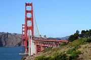 San Francisco Golden Gate Bridge . 7d8158 Print by Wingsdomain Art and Photography