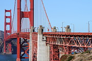 Structural Art Photos - San Francisco Golden Gate Bridge . 7D8166 by Wingsdomain Art and Photography