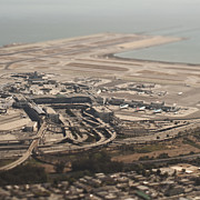 Airport Architecture Prints - San Francisco International Airport Print by Eddy Joaquim