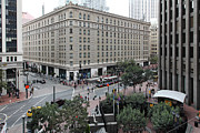 San Francisco Market Street - 5d17873 Print by Wingsdomain Art and Photography