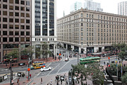 San Francisco Market Street - 5d17883 Print by Wingsdomain Art and Photography