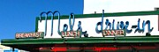 Restaurant Sign Prints - San Francisco Mels Drive-In NeonSign Print by CJ Carroll