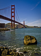 Sausalito Metal Prints - San Francisco Metal Print by Niels Nielsen