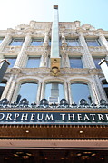 Old Theater Framed Prints - San Francisco Orpheum Theatre - 5D17987 Framed Print by Wingsdomain Art and Photography