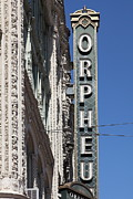 Old Theater Framed Prints - San Francisco Orpheum Theatre - 5D17996 Framed Print by Wingsdomain Art and Photography