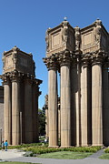 Palace Of Fine Arts Prints - San Francisco Palace of Fine Arts - 5D18047 Print by Wingsdomain Art and Photography