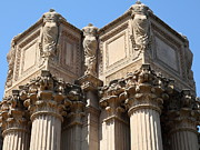 Palace Of Fine Arts Prints - San Francisco Palace of Fine Arts - 5D18048 Print by Wingsdomain Art and Photography