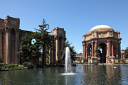 Palace Of Fine Arts Prints - San Francisco Palace of Fine Arts - 5D18054 Print by Wingsdomain Art and Photography