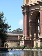 Palace Of Fine Arts Prints - San Francisco Palace of Fine Arts - 5D18057 Print by Wingsdomain Art and Photography