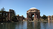 Domes Photo Prints - San Francisco Palace of Fine Arts - 5D18061 Print by Wingsdomain Art and Photography