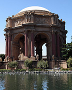 Palace Of Fine Arts Prints - San Francisco Palace of Fine Arts - 5D18096 Print by Wingsdomain Art and Photography