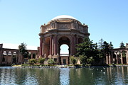 Museums Framed Prints - San Francisco Palace of Fine Arts - 5D18107 Framed Print by Wingsdomain Art and Photography