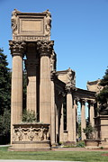 Domes Prints - San Francisco Palace of Fine Arts - 5D18168 Print by Wingsdomain Art and Photography