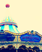 San Francisco Prints - San Francisco Pier 39 Carousel Print by Kim Fearheiley