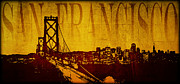 Business Cartoon Art - San Francisco by Ricky Barnard