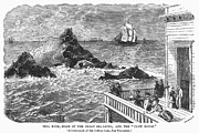 House Lion Prints - San Francisco: Seal Rock Print by Granger