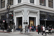 Architecture Prints - San Francisco Shreve and Company on Grant Street - 5D17920 Print by Wingsdomain Art and Photography