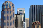 Union Square Prints - San Francisco Skyline . 7D7493 Print by Wingsdomain Art and Photography