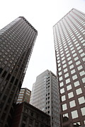 Architecture Prints - San Francisco Tall Buildings in The Financial District - 5D17897 Print by Wingsdomain Art and Photography