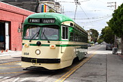 Castro Photos - San Francisco Trolley . Castro . 7D7550 by Wingsdomain Art and Photography