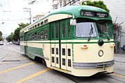 Castro Photos - San Francisco Trolley . Castro District  . 7D7556 by Wingsdomain Art and Photography