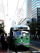 Castro Photos - San Francisco Trolley Castro Line . 40D3023 by Wingsdomain Art and Photography