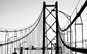 Black Pole Framed Prints - San Francisco Framed Print by Znz