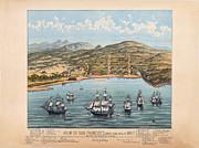 San Fransisco 1846 Print by Donna Leach