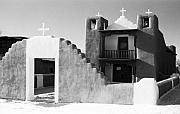 Taos Photo Prints - San Geronimo Chapel Taos Pueblo Print by Troy Montemayor