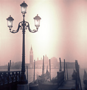 Toy Camera Prints - San Giorgio Maggiore Seen From Venice  Print by Janeen Wassink Searles