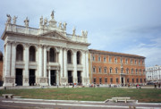 Lateran Framed Prints - San Giovanni and Palazzo Lateranense Framed Print by Fabrizio Ruggeri