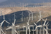 Alternative Energy Framed Prints - San Gorgonio Pass Wind Farm I Framed Print by Clarence Holmes