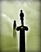 Lucky Larue Art - San Jacinto Monument in Texas  by Lucky LaRue
