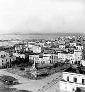 Puerto Rico Photo Prints - San Juan - Puerto Rico - c 1900 Print by International  Images