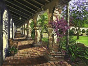 County Paintings - San Juan Capistrano by Lisa Reinhardt